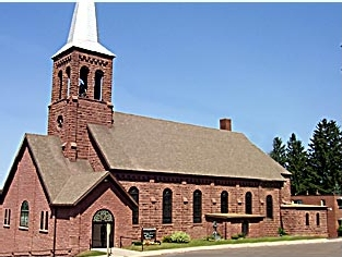 Saint Mary's Catholic Church | Hurley, WI Commercial + Industrial Roofing Project