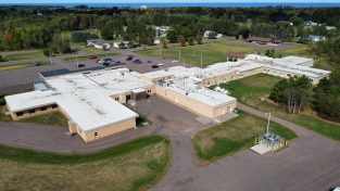 Aspirus Ontonagon Hospital and Clinic | Ontonagon, MI Commercial + Industrial Roofing Project