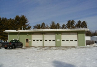 Department of Natural Resources - Auto Shop | Woodruff, WI Metal Building Roofing Project