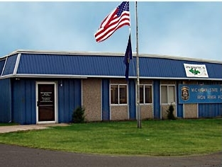 Michigan State Police Post | Iron River, MI Metal Building Roofing Project
