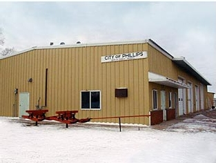 The City of Phillips Garage | Phillips, WI Educational + Governmental Roofing Project