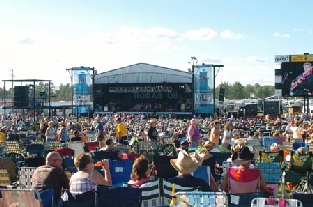 Hodag Country Fest | Rhinelander, WI Metal Building Roofing Project